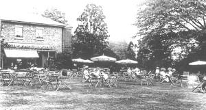 Dollis Hill House 1908 - Tea on the Terrace